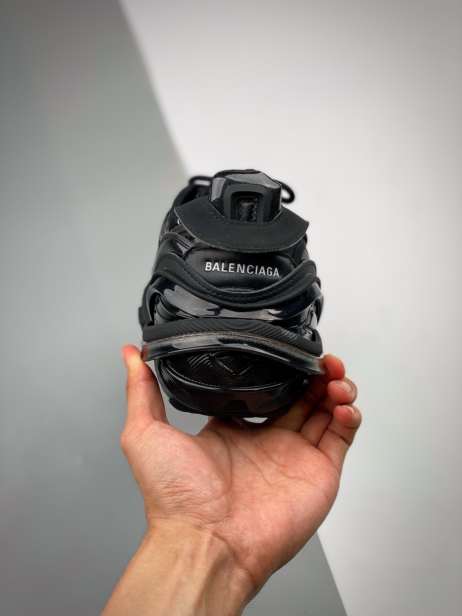 Balenciaga Runway Tyrex  Panelled Trainers巴黎世家20ss_河源的裸鞋都水分吗
