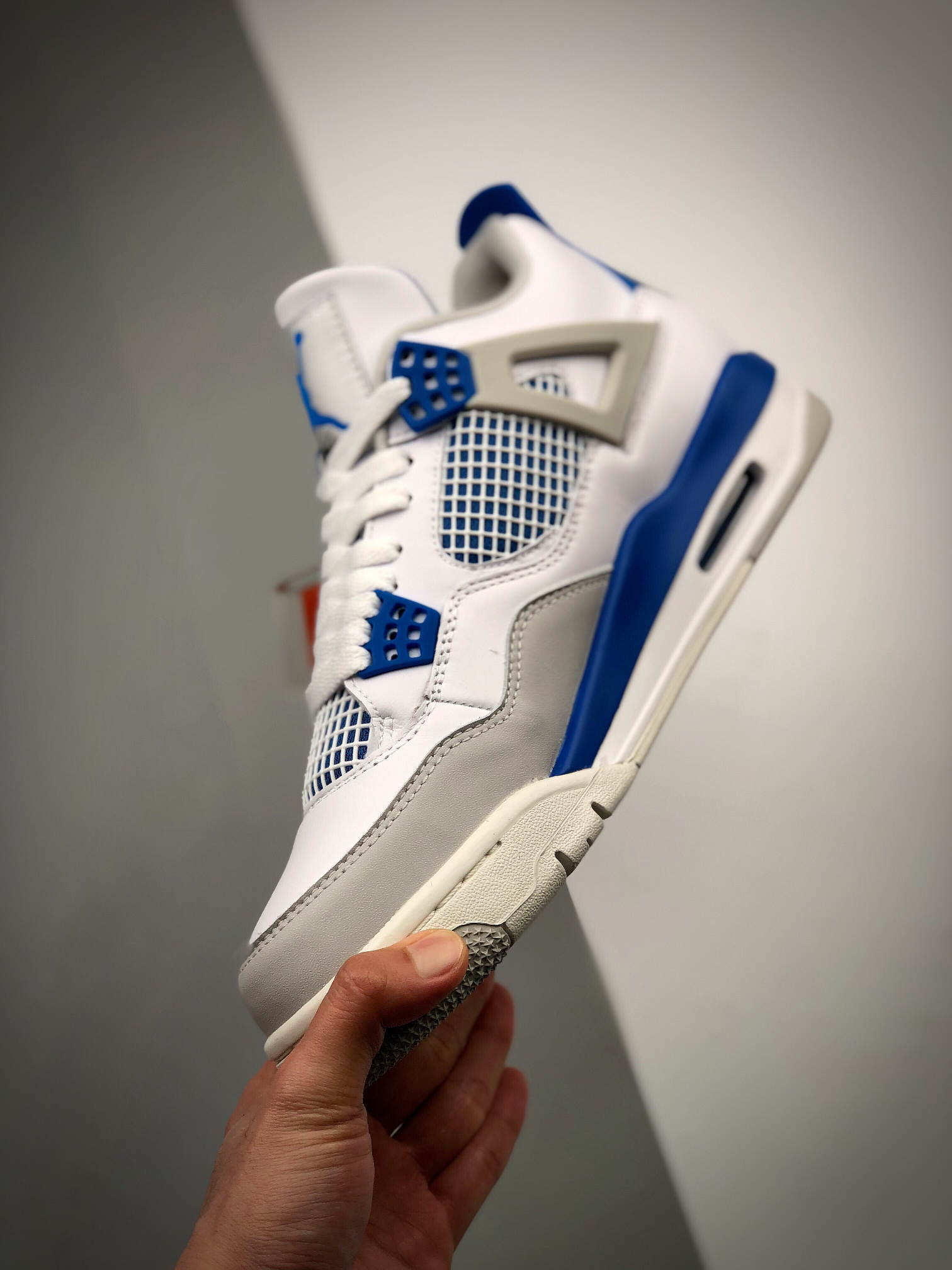 "Air Jordan 4 Retro ""Military Blue"" 白兰_金手指s2纯原"