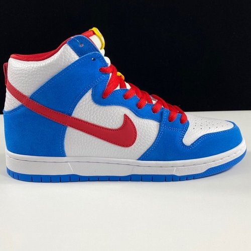 "Dunk 白蓝红 Nike SB Dunk High Pro ISO ""Photo Blue""哆啦A梦 蓝胖纸_dt和ljr莆田"