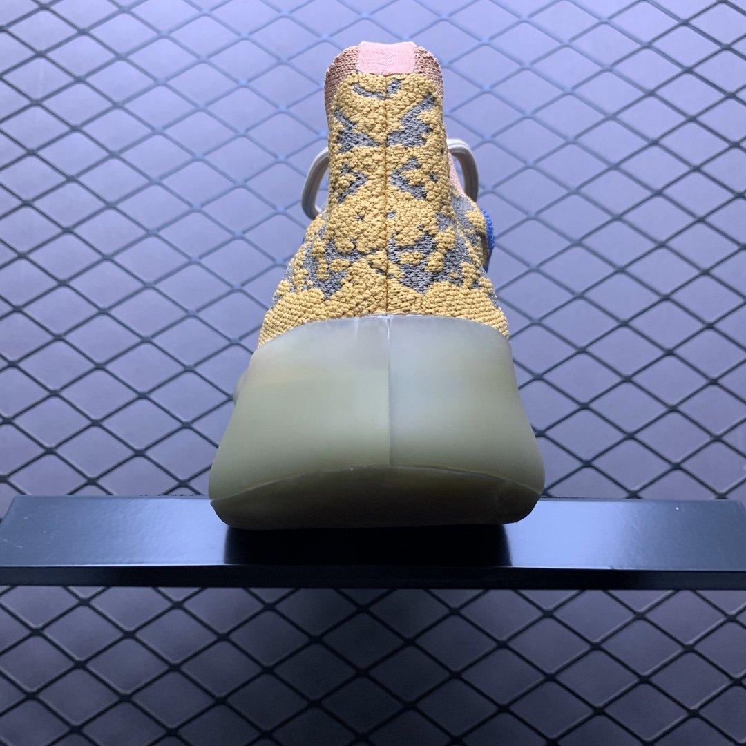 "Yeezy 380 Boost 椰子380新配色 "" Blue Oat Reflective "" 蓝棕 满天星_s2纯原鞋货源"