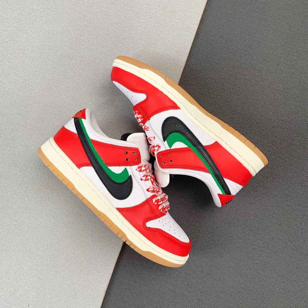 Frame Skate's x SB Dunk Low Pro Habibi  芝加哥双层鞋舌双钩 CT2550-600_河源裸鞋渠道