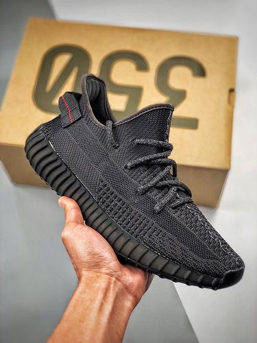 """Yeezy 350 Boost V2  """"Black""""  3M黑天使 货号:FU9006 黑天使_g5版本的鞋怎么样"""