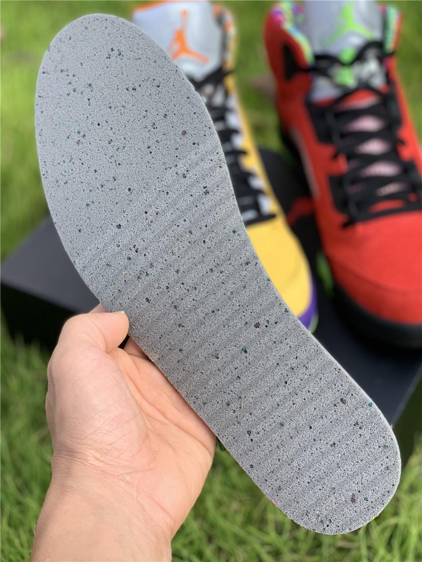"Air Jordan 5 ""What The"" 鸳鸯 货号:CZ5725-700_莆田鞋一手货源最低价"