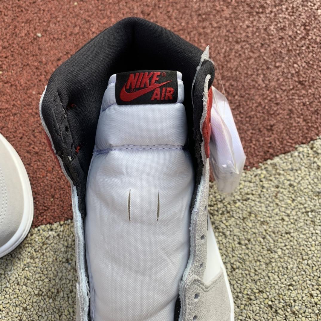 """LJR出品-aj1烟灰-Air Jordan 1 High OG AJ1 """"Light Smoke Grey"""" 烟灰 555088-126_ljr版本是莆田吗"""