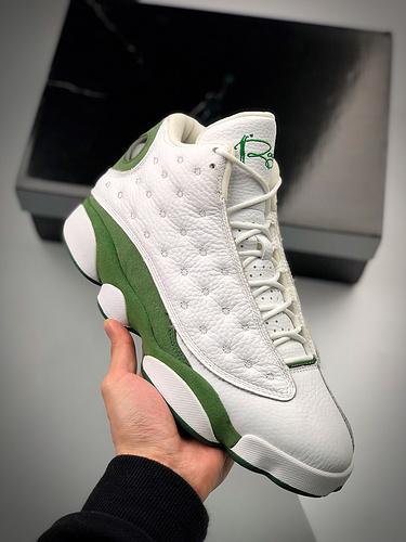 "Air Jordan 13 ""Lucky Green""  货号:DB6537-113   乔13白绿_og好还是纯原好"
