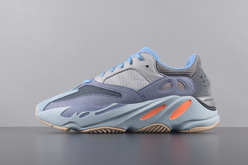 """【G5版椰子700】鞋码:36-47 G5版本 ADIDAS YEEZY 700 BOOST """"Carbon Blue"""" 碳蓝_pk版椰子和G5"""