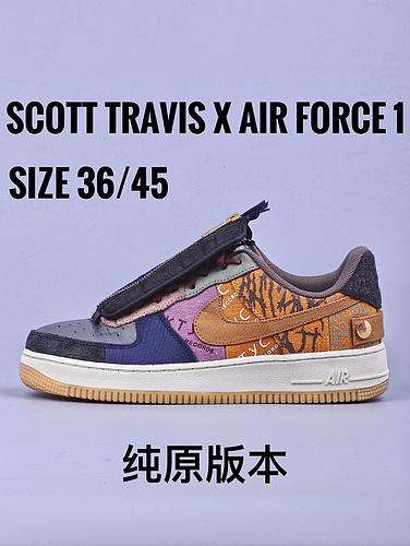 Scott Travis x Air Force 1 鬼脸联名_yeezy350纯原和GT毒版