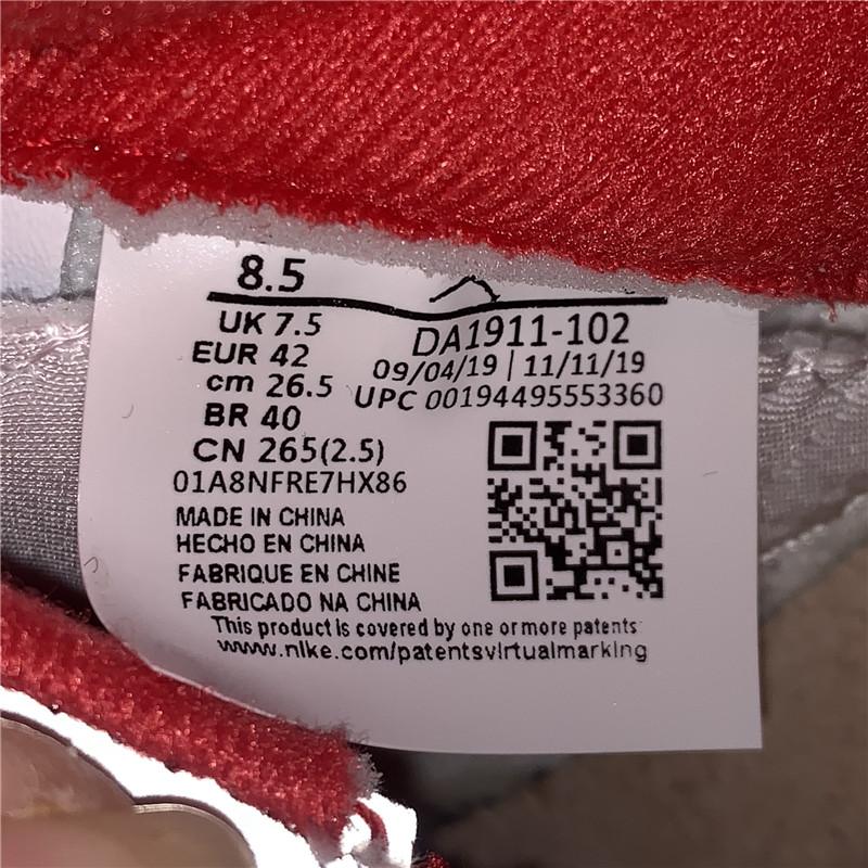 """莞版AJ Air Jordan 5 """"Fire Red"""" 流川枫   货号DA1911-102_莆田纯原在哪里买"""