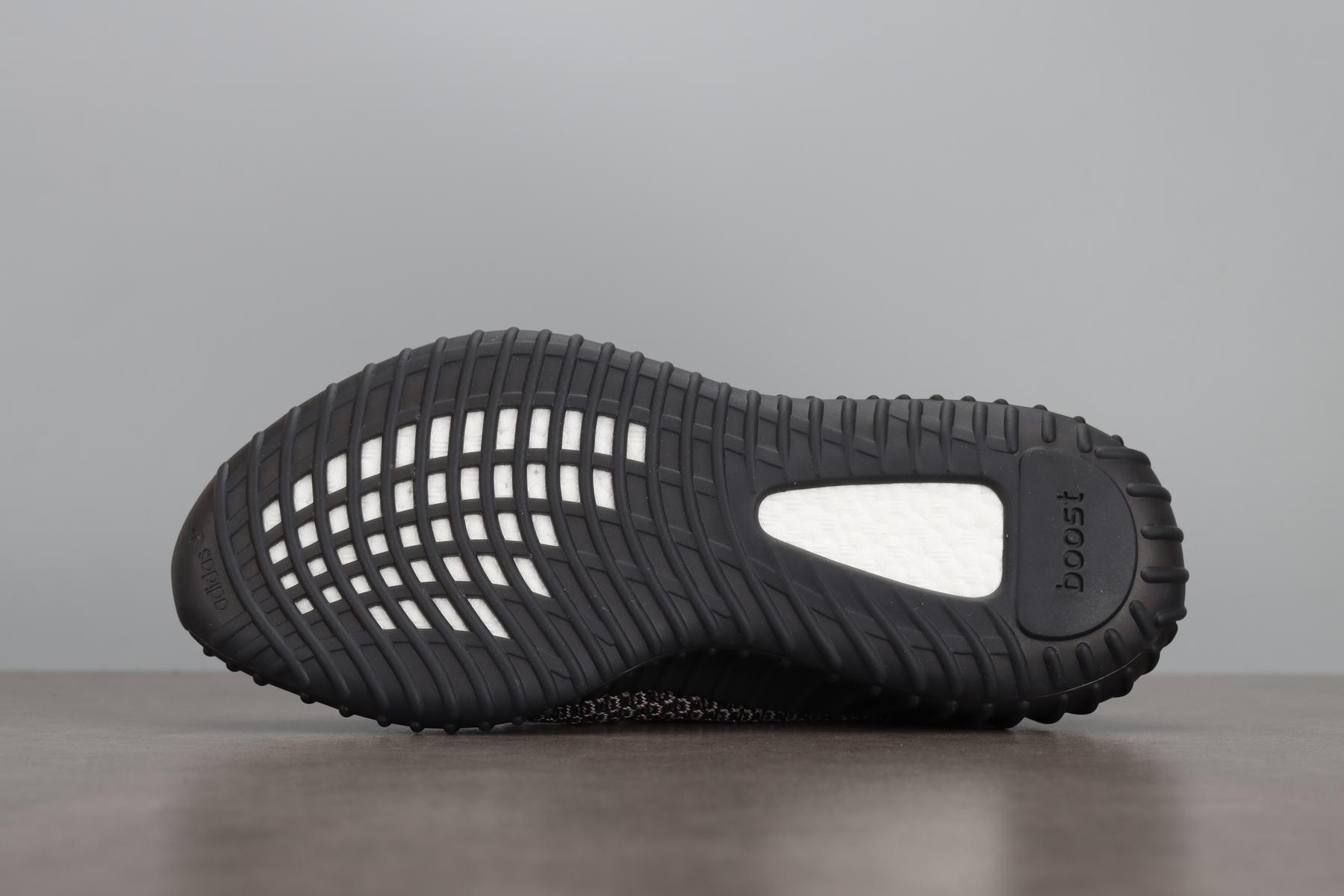 """汪版椰子 BASF Yeezy Boost 350 V2""""Yecheil""""FX4145 椰子350二代 镂空_河源裸鞋正品对比"""