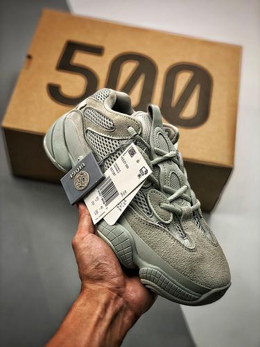 """OG椰子500 Yeezy 500 """"Salt"""" 盐雾 盐雾配色  EE7287_s2工厂鞋子"""