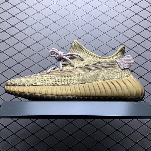 """超性价比版本 Adidas 阿迪达斯 Yeezy Boost 350V2 """"Earth"""" 美洲3.0地球 椰子新配色 FX9033 完美鞋型 品质_s2纯原稳吗"""
