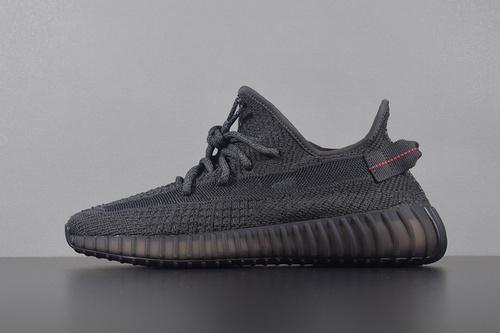Get版本350  YEEZY 350 BOOST V2 ' Static Refective '  黑满天星 FU9007_椰子鞋g5是什么牌子