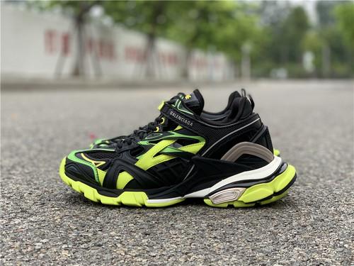 巴黎世家 4.0  黑绿配色  35-45_东莞厚街鞋子批发市场