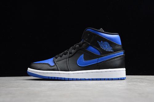 ST版 AJ 黑蓝中邦554724-068_莆田鞋最高版本一般什么价位