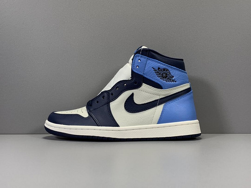 GOD版_AJ1 黑曜石 Air Jordan 1 Retro High OG,货号_555088-140_莆田god版鞋子