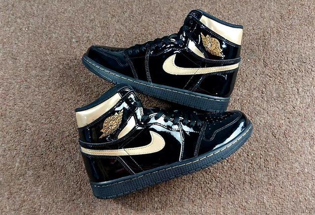 Air Jordan 1 High OG 黑金 货号:555088-032_莆田鞋货源网