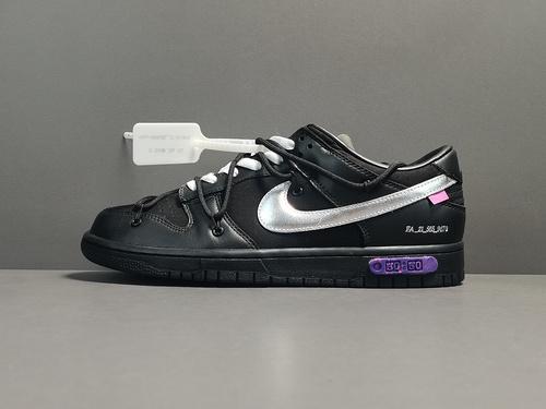 X版纯原:DUNK OW 黑 OFF-WHITE x Dunk Low,货号:DM1602-001_莆田鞋x版纯原什么意思