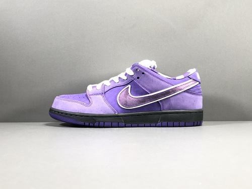 【OG版:DUNK SB】紫龙虾   Concepts x NK SB Dunk Low  联名 货号:BV1013-555_莆田鞋性价比版本是什么意思