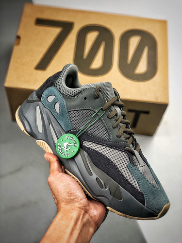 """S2椰子700 FW2499 Adidas Yeezy 700 Boost """"Teal Blue""""_s2纯原终端"""