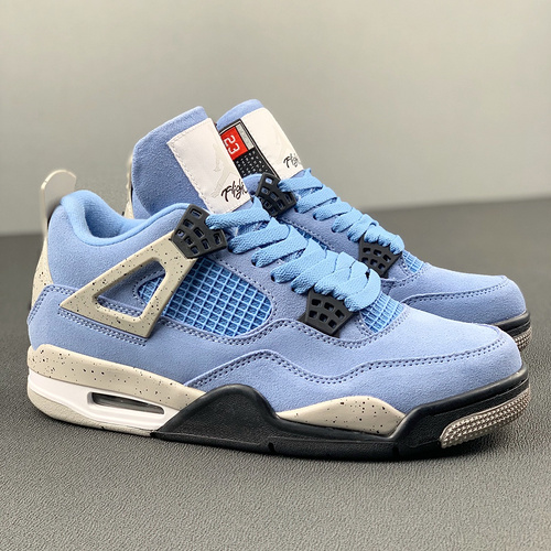 "Air Jordan 4 SE""University Blue""AJ4 乔4大学蓝 CT8527-400_河源裸鞋渠道"