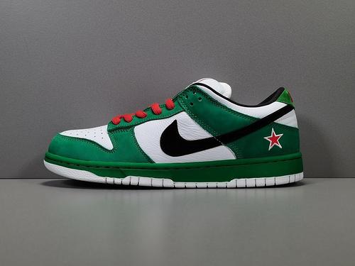 专柜版_DUNK_喜力_Nike Dunk Low Pro SE Heineken 货号304292-302_jas好还是椰叔好