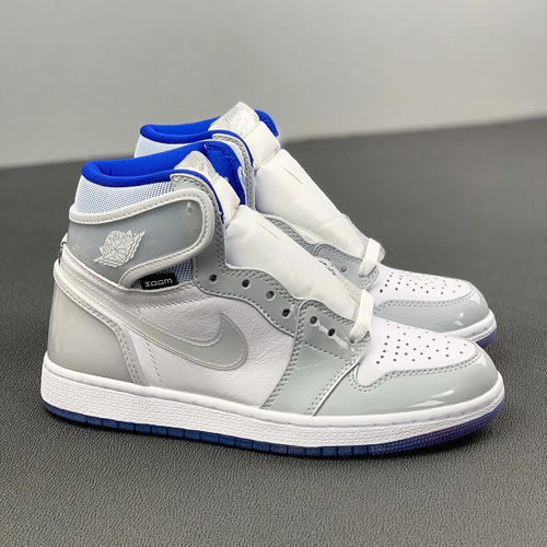 "Air Jordan 1 High Zoom R2T ""Racer Blue"" 小迪奥配色 CK6637-104_河源裸鞋是不是正品"