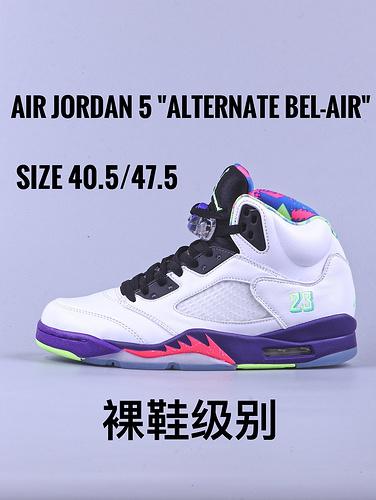 "Air Jordan 5 ""Alternate Bel-Air""白鸳鸯_莆田GT毒版质量怎么样"