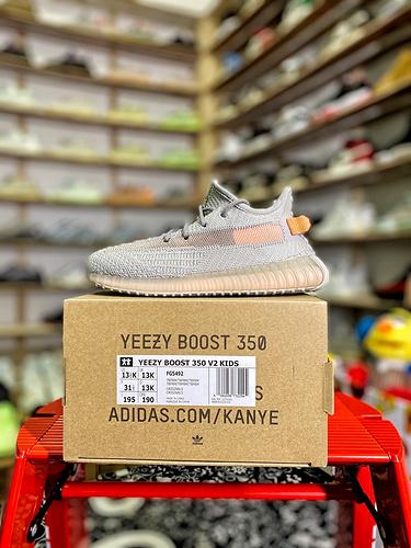 """Yeezy 350v2 """"童鞋 欧洲限定 货号:FG5492_aj1特供版和纯原版区别"""