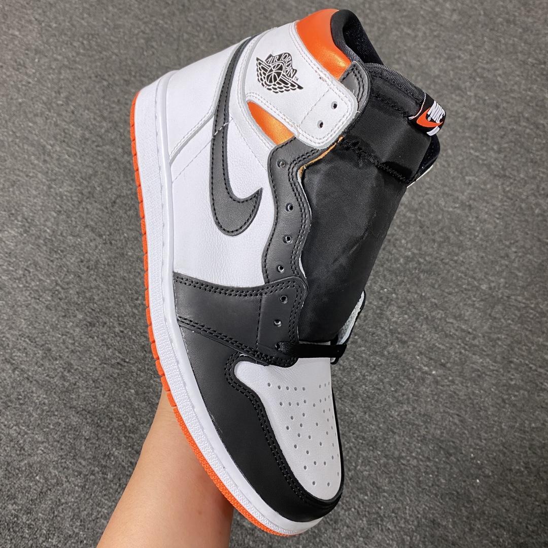 "aj1黑脚趾扣碎! 莞顶L Ljr版本Air Jordan 1 High OG""Black Toe Shattered Backboard""AJ1 乔1扣碎篮板 黑脚趾 高帮篮球鞋 555088-18"