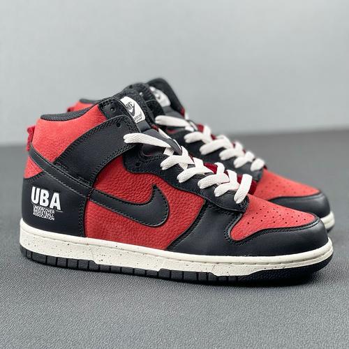 """Dunk High 1985""""Gym Red"""" 黑红 货号:DD9401-600_河源裸鞋aj4"""