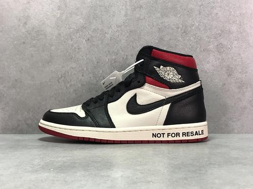 """OG版_乔一 红禁转卖  Air Jordan 1 NRG OG High """"No L&x27;s"""" 禁止转卖 货号_861428-106_300多块的椰子一眼假吗"""