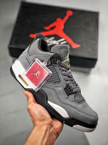 "Air Jordan 4 ""Cool Grey"" 灰老鼠_莆田才子工厂店在哪里"
