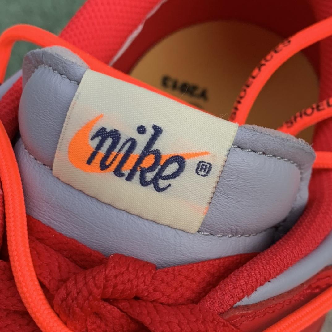 LJR出品-OFF-WHITE x Dunk low OW联名 灰红 板鞋 ct0856-600_dt和ljr莆田