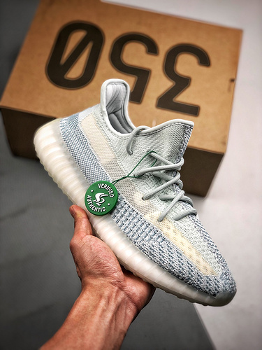 "Yeezy 350V2 ""Cloud White""冰蓝天使_莆田哪个厂的鞋最好"