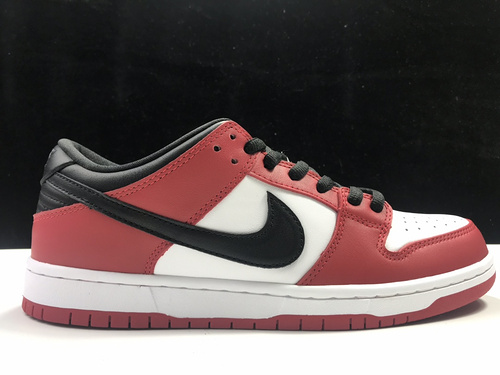 莞L版:DUNK芝加哥 SB Dunk LOW PRO,货号:BQ6817-600_莆田鞋ln和ljr