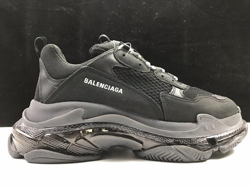 黑气垫  Balenciaga Tripe-S 巴黎世家复古老爹鞋_ljr版本去哪里买