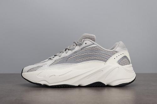 LJR Adidas Yeezy Boost 700 V2 Static 椰子灰白3M反光老爹鞋 EF2829_ljr是莆田吗