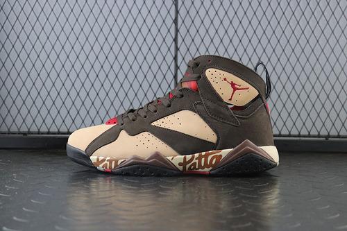 Air Jordan 7 x Patta OG SP Shimmer AJ7 联名涂鸦 AT3375-200_满天星椰子h12