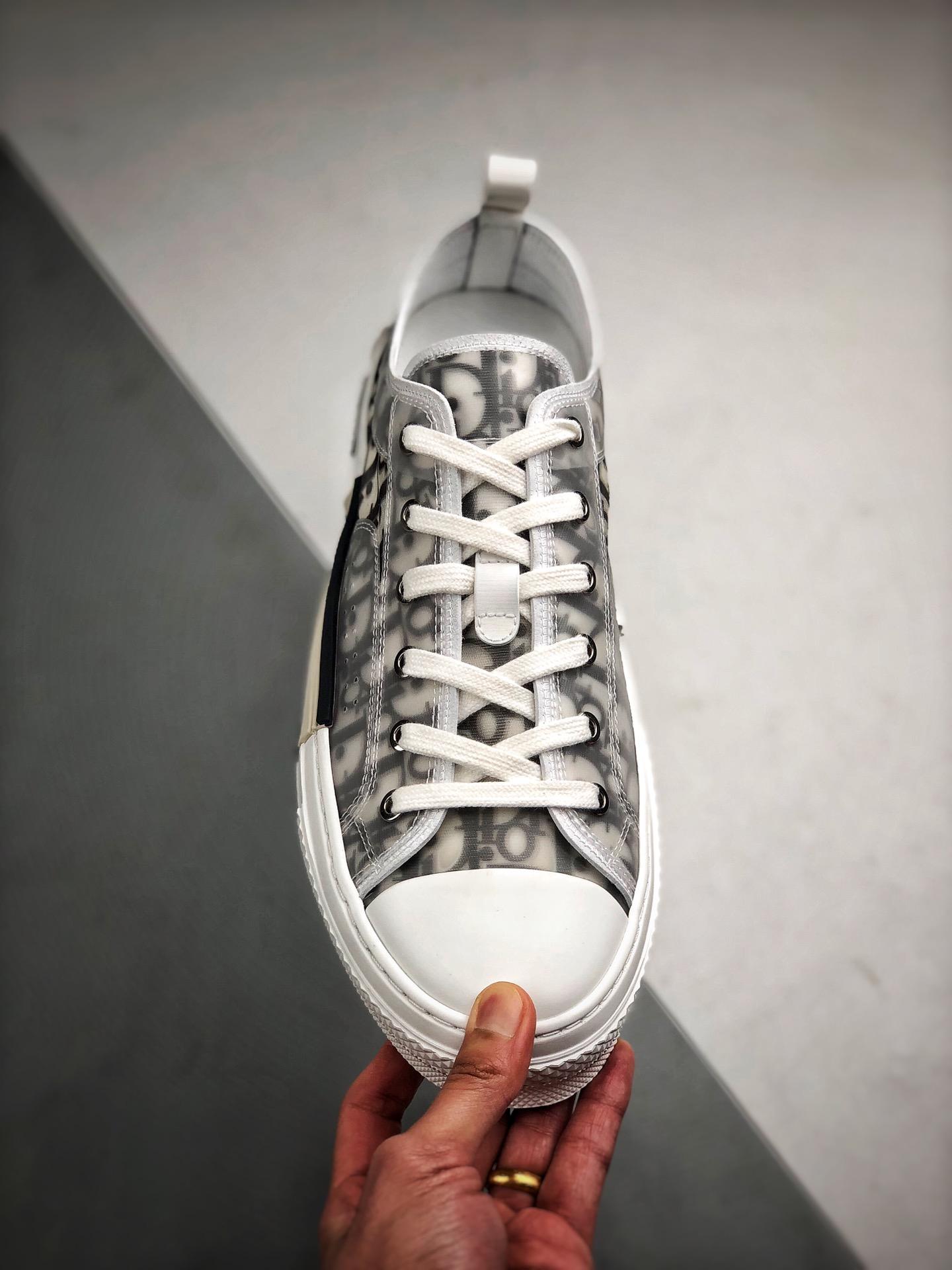 "Dior B23 Oblique Low Top Sneakers 迪奥""CD重影""_莆田鞋各等级价格"