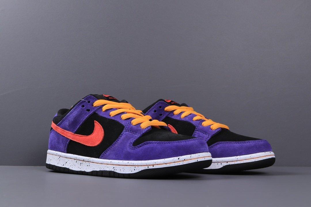 """黑紫 """"蝎子莱莱"""" 低帮运动休闲板鞋货号:BQ6817-008_椰子350黑天使老汪跟og对比"""