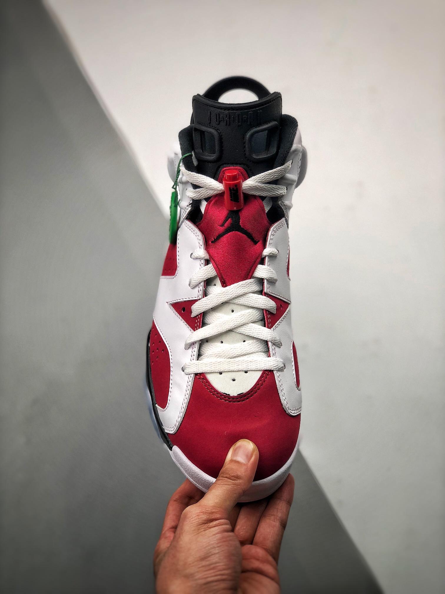 """Air Jordan 6 Retro """"Carmine""""胭脂 CT8529-106_s2纯原哪里能买到"""