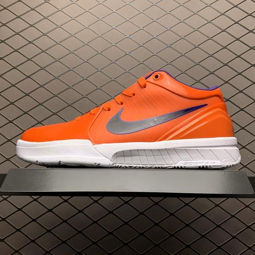 纯原版本 Undefeated x Nike Zoom KOBE 4 灭世纯原 不败联名配色 科比四代ZK4 CQ3869-800_s2纯原倒钩