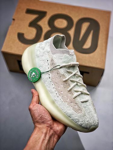 """YEEZY Boost 380 """"Calcite Glow""""夜光_正品裸鞋河源"""