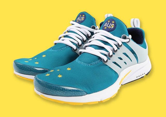 "Nike Air Presto ""Australia"" 货号:CJ1229-301_椰子350og"