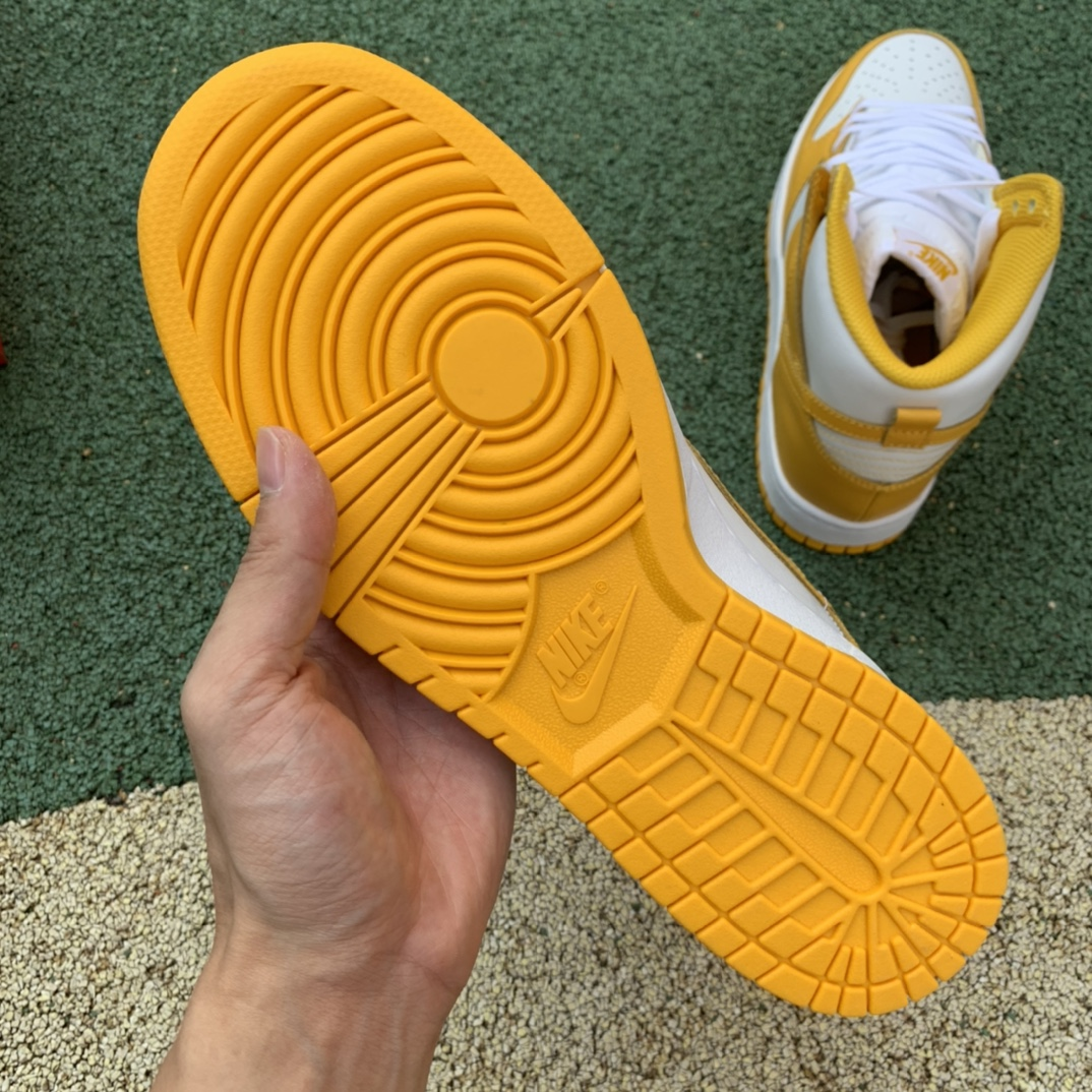 Dunk High 姜黄 硫磺色 高帮板鞋 DD1869-106_有没有好的莆田鞋微信号推荐