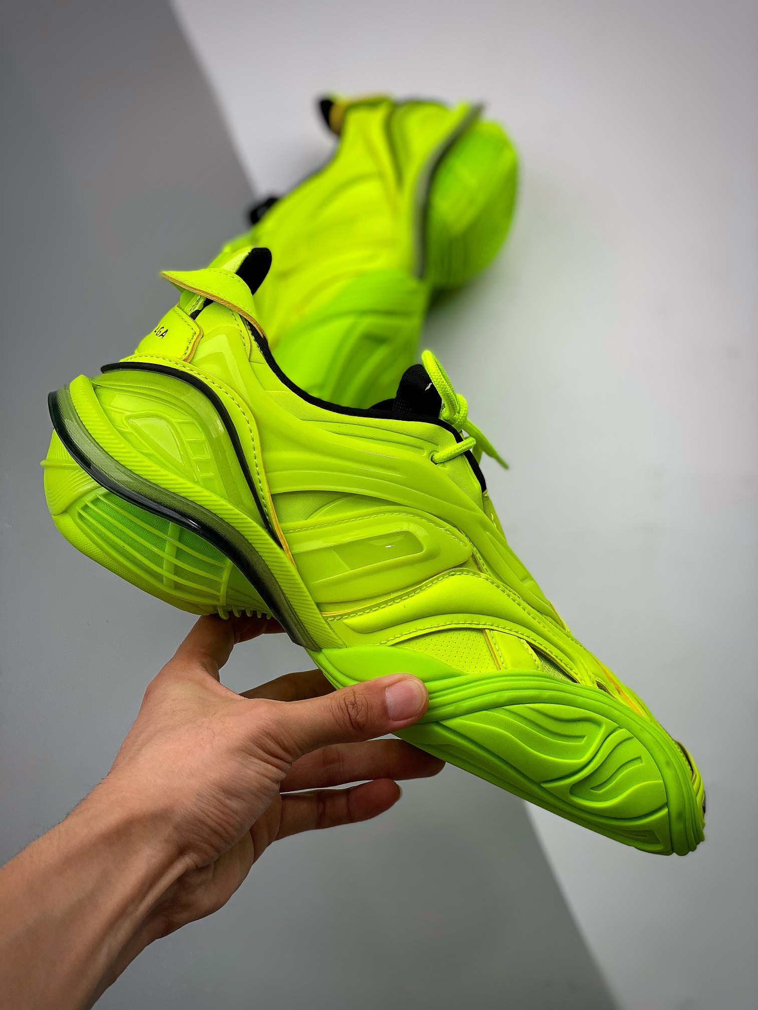 Balenciaga Runway Tyrex  Panelled Trainers巴黎世家20ss_郴州裸鞋跟河源裸鞋