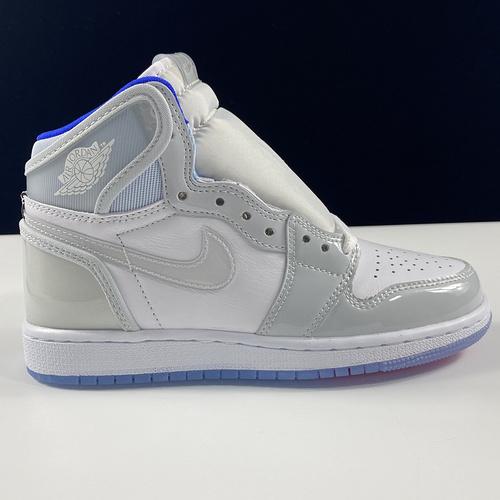 "aj1迪奥女鞋 Air Jordan 1 High Zoom R2T AJ1 乔1灰白""小迪奥""联名款 CK6637-104_莆田ljr网站"