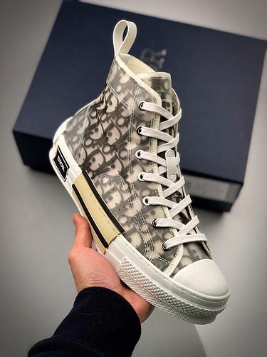 Dior B23 Oblique High Top Sneakers 迪奥黑白高帮_莆田初中的教科书是什么版本