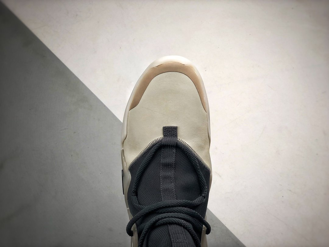 """AIR FEAR OF GOD """"The Question"""" S2纯原生产线 黑白灰_s2纯原鞋子"""