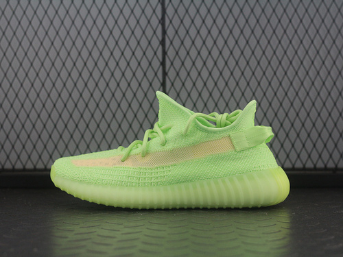 PK版Adidas Yeezy 350 Boost V2 EG5293 阿迪达斯椰子350二代 全新荧光绿镂空蚕丝配色_pk鞋子工厂